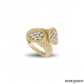 Boucheron Yellow Gold Serpent Bohème Ring JRG04BAB1